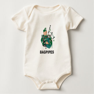 bagpipes baby baby bodysuit