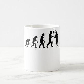 Bagpipes Evolution Coffee Mug