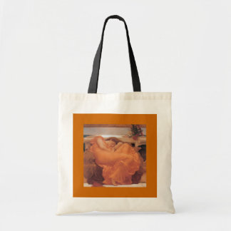 Bags-Classic Art-Leighton-Flaming June Tote Bag