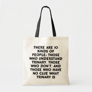 Bags) There are 10 kinds...trinary Tote Bag