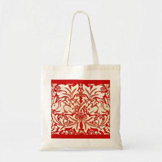 Bags-Vintage Fabric-William Morris 11 Tote Bag