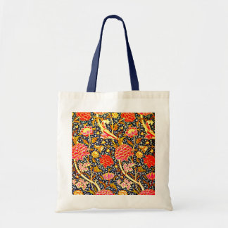 Bags-Vintage Fabric-William Morris 17 Tote Bag