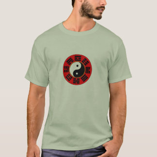 Bagua trigram mens t-shirt