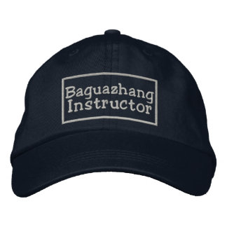 Baguazhang Instructor Embroidered Hat