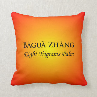 Baguazhang Throw Pillow