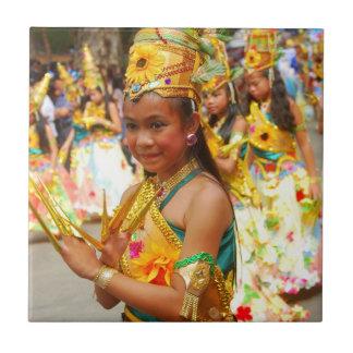 Baguio Panagbenga Festival Tile