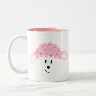 BAH! BAH! Lamb Face Two-Tone Coffee Mug