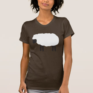 Bah, Bah, White Sheep T-Shirt
