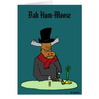 Bah Hum-Moose, Card