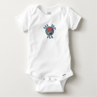 Bah Hum Pug Christmas Collection Baby Onesie