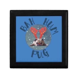 Bah Hum Pug Christmas Collection Gift Box