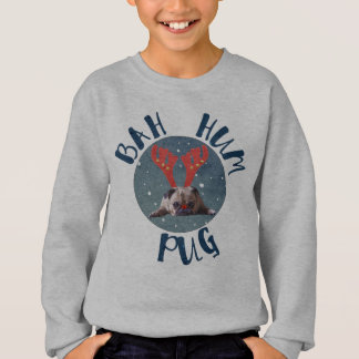 Bah Hum Pug Christmas Collection Sweatshirt