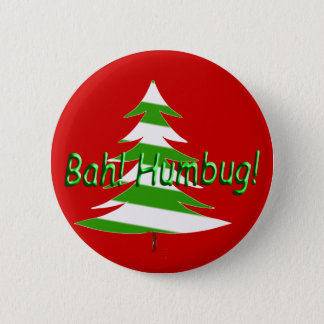 Bah! Humbug! 2 Inch Round Button