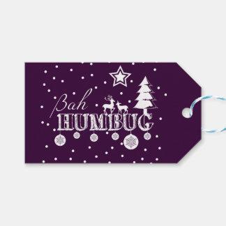 Bah Humbug Christmas Gift Tags