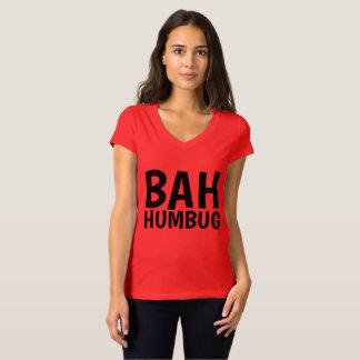BAH HUMBUG Funny T-shirts Christmas