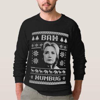 Bah Humbug Hillary Christmas Sweatshirt