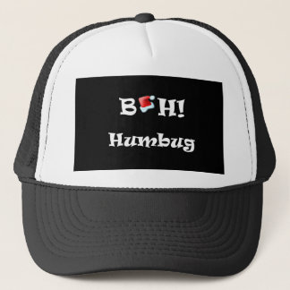 Bah! Humbug, Merry Christmas Trucker Hat