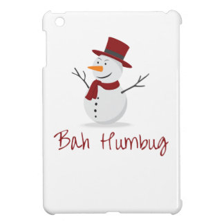 Bah Humbug -  Mischievous Snowman  - Christmas Cover For The iPad Mini