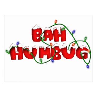 bah humbug!!!! postcard