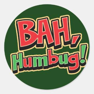 Bah Humbug Stickers
