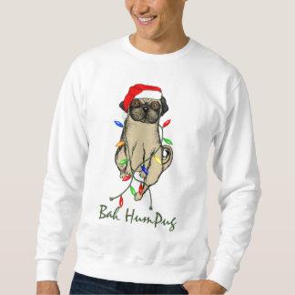 Bah HumPug  Pug Sweatshirt