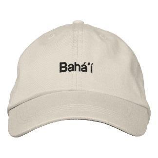 Bahá'í Embroidered Hat