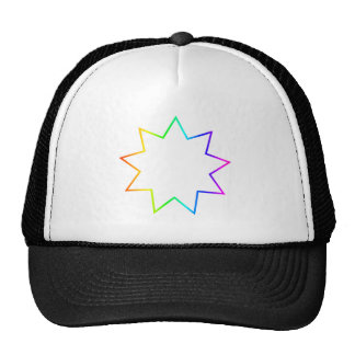 Bahai Symbol Trucker Hat