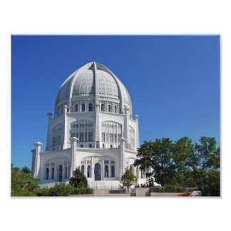 Baha'i Temple Photo Print