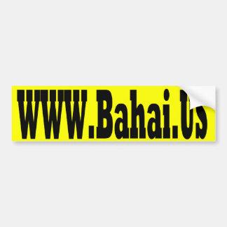 Bahai.us Bumper Sticker