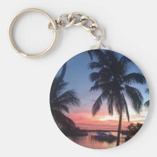 Bahama Evening Basic Round Button Keychain