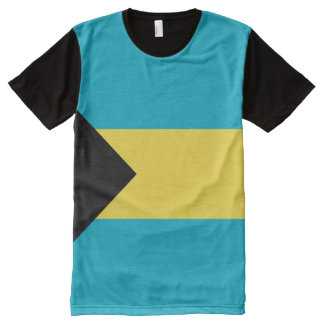 Bahama Flag full All-Over-Print T-Shirt