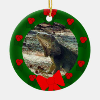 Bahama Iguana Dated Ornament