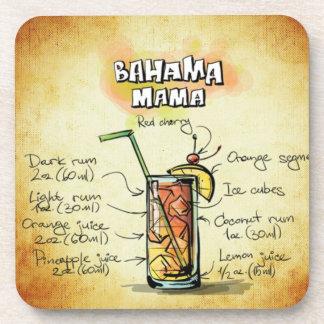 Bahama Mama Bartender Drink Recipe Coaster