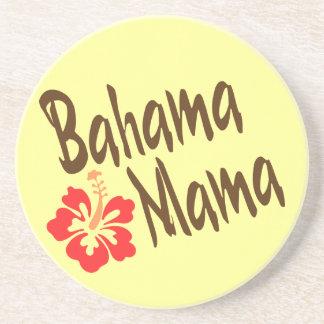 Bahama Mama with hibiscus Coaster