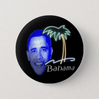 Bahama Obama 2 Inch Round Button