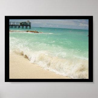 Bahama Waves Canvas Print
