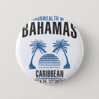 Bahamas 2 Inch Round Button