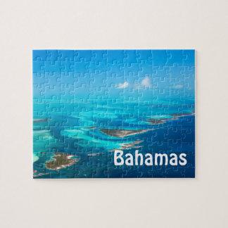 Bahamas aerial jigsaw puzzle