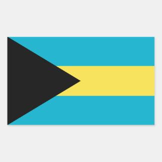 Bahamas/Bahamian Flag Sticker