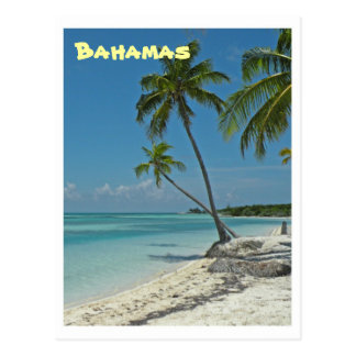 Bahamas Beach Post Card