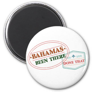 Bahamas Been There Done That 2 Inch Round Magnet