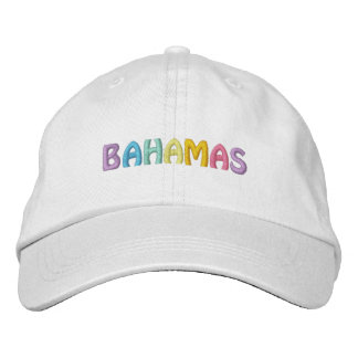 BAHAMAS cap (adjustable fit) Embroidered Baseball Cap