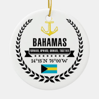Bahamas Ceramic Ornament