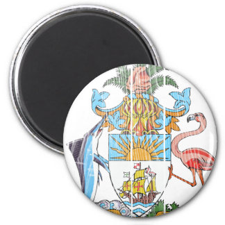 Bahamas Coat Of Arms 2 Inch Round Magnet