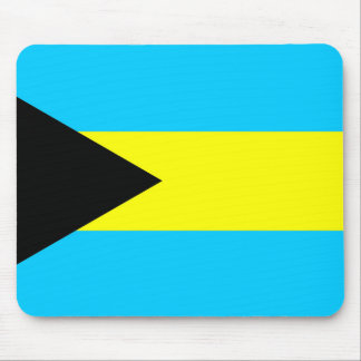 Bahamas country flag symbol long mouse pad