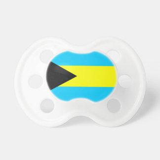 Bahamas country flag symbol long pacifier