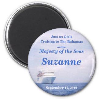 Bahamas Cruise 2 Inch Round Magnet