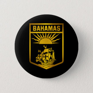 Bahamas Emblem 2 Inch Round Button