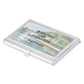 Bahamas - Ferry to Paradise island Wedding Product Business Card Holders