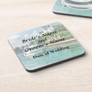 Bahamas - Ferry to Paradise island Wedding Product Drink Coaster